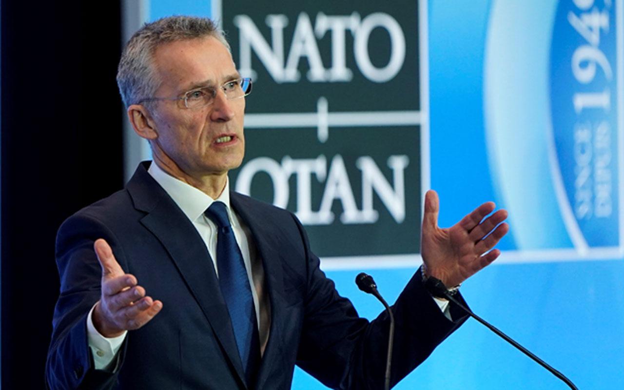 NATO Genel Sekreteri Stoltenberg'ten kritik Türkiye-YPG açıklaması