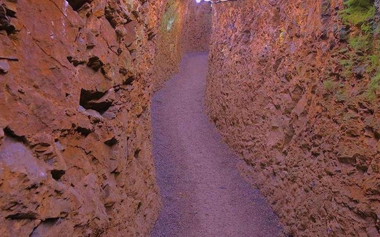 Bayburt'ta Roma dönemine ait 3 bin yıllık yeraltı şehir bulundu