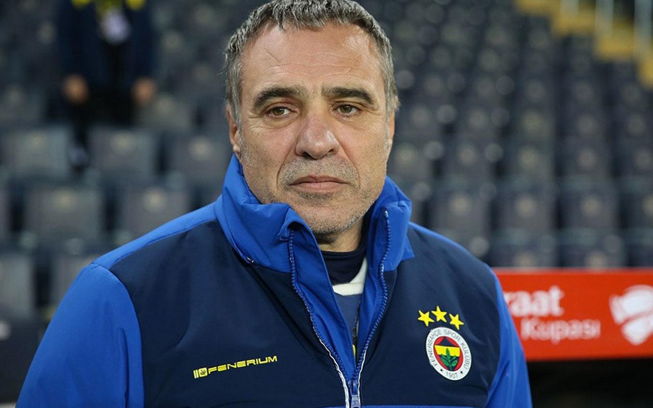 Fenerbahçe Teknik Direktörü Ersun Yanal sahaya çıkamadı