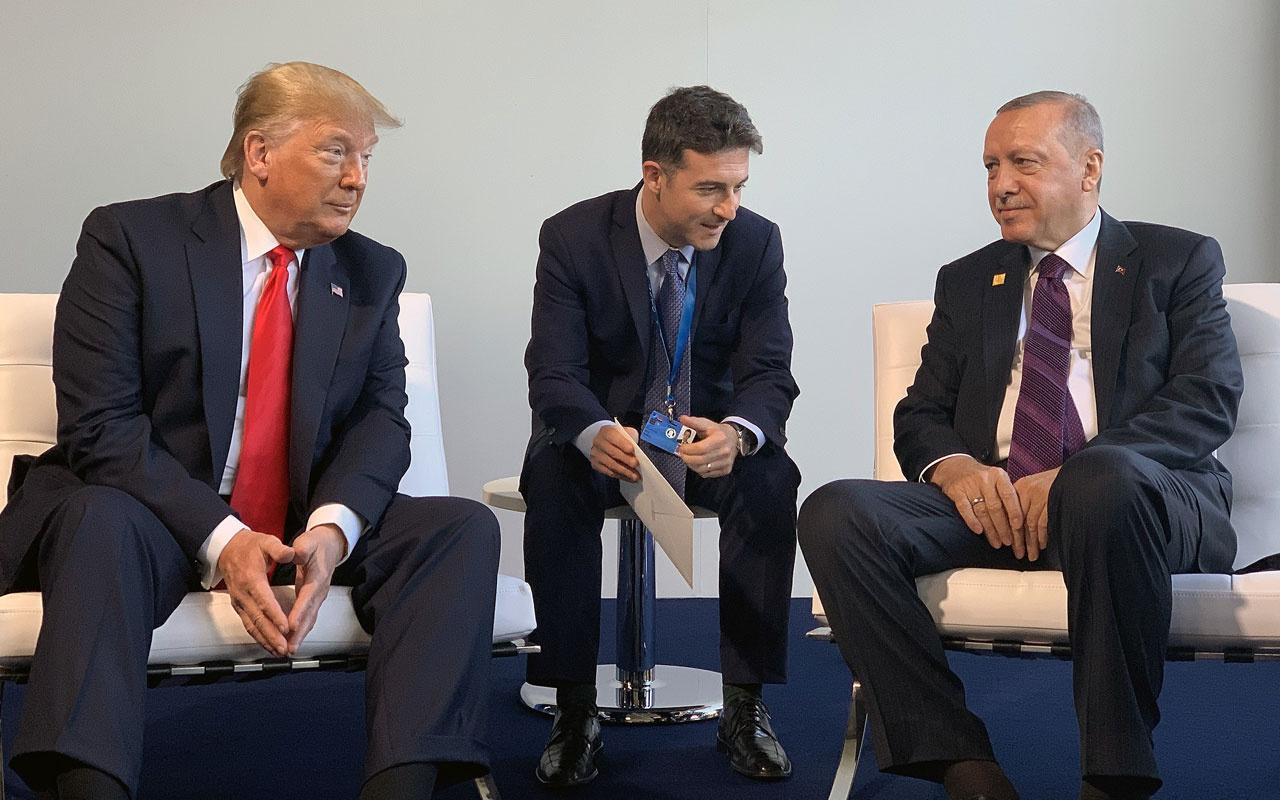 Cumhurbaşkanı Erdoğan NATO Zirvesi'nde Trump'la görüştü