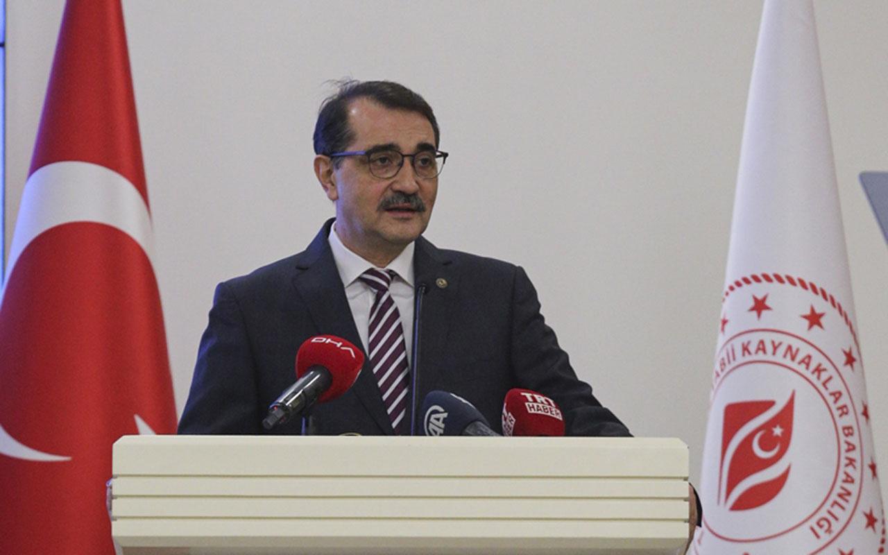 Enerji ve Tabii Kaynaklar Bakanı Fatih Dönmez'den Libya açıklaması
