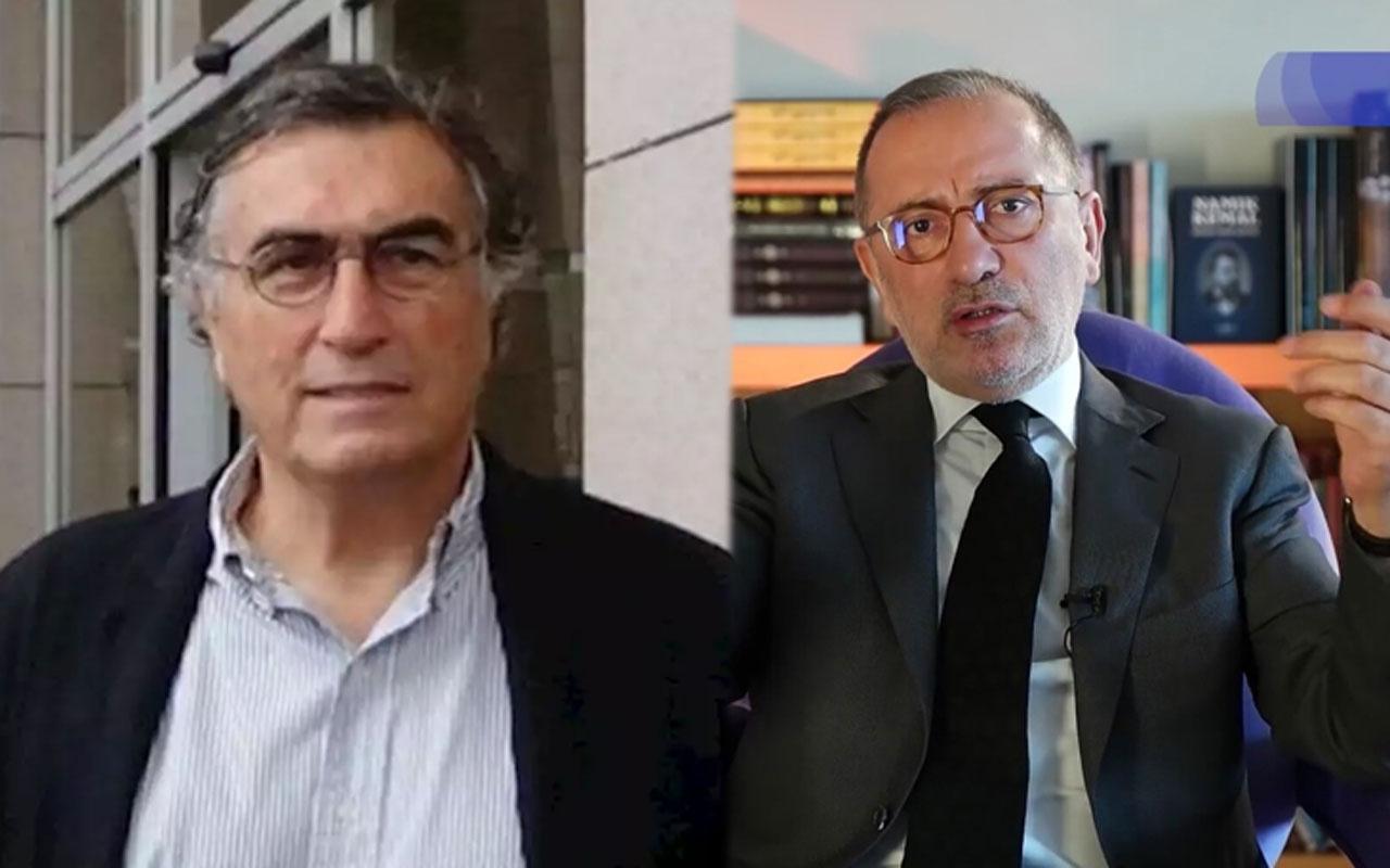 Fatih Altaylı'dan Hasan Cemal tepkisi: Gitmez kovsan gitmez...