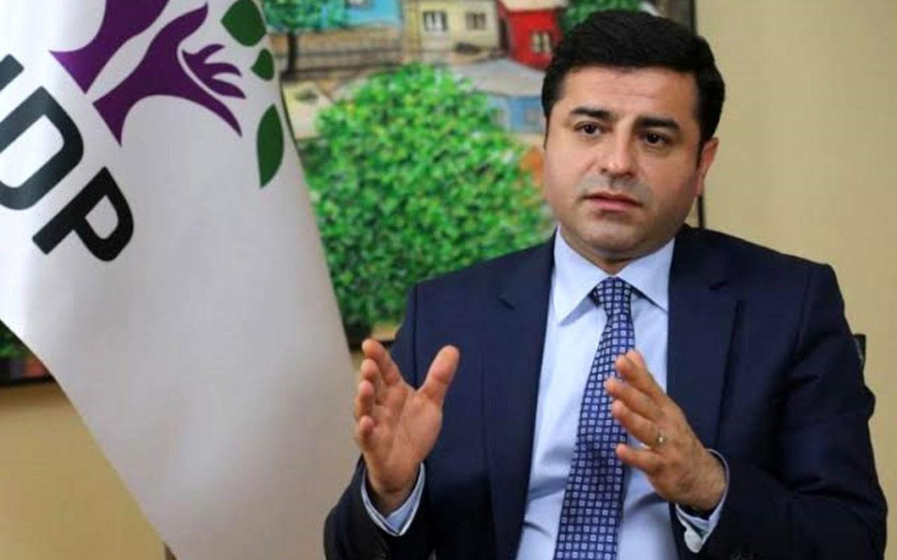 Selahattin Demirtaş'a Ankara Başsavcısı Kocaman'ı hedef gösterdiği iddiasıyla dava