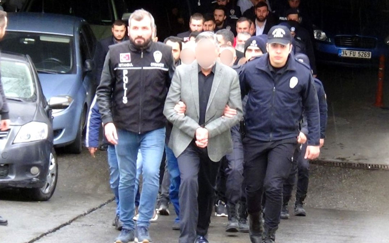 Sarallar operasyonunda örgüt lideri Burhanettin Saral dahil 8 kişi tutuklandı