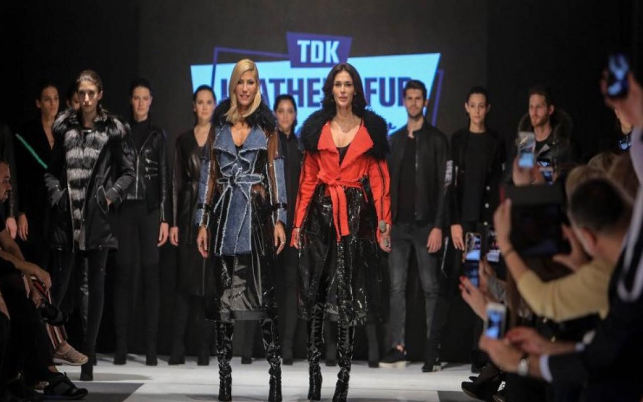 Deri ve Kürk Moda Fuarı Leather&Fur Fashion Show Antalya'da açıldı