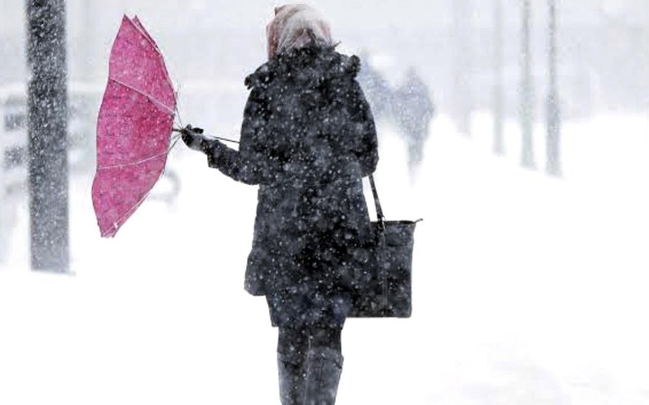 Kayseri hava durumu kar bastırdı saatlik tahmin fena!