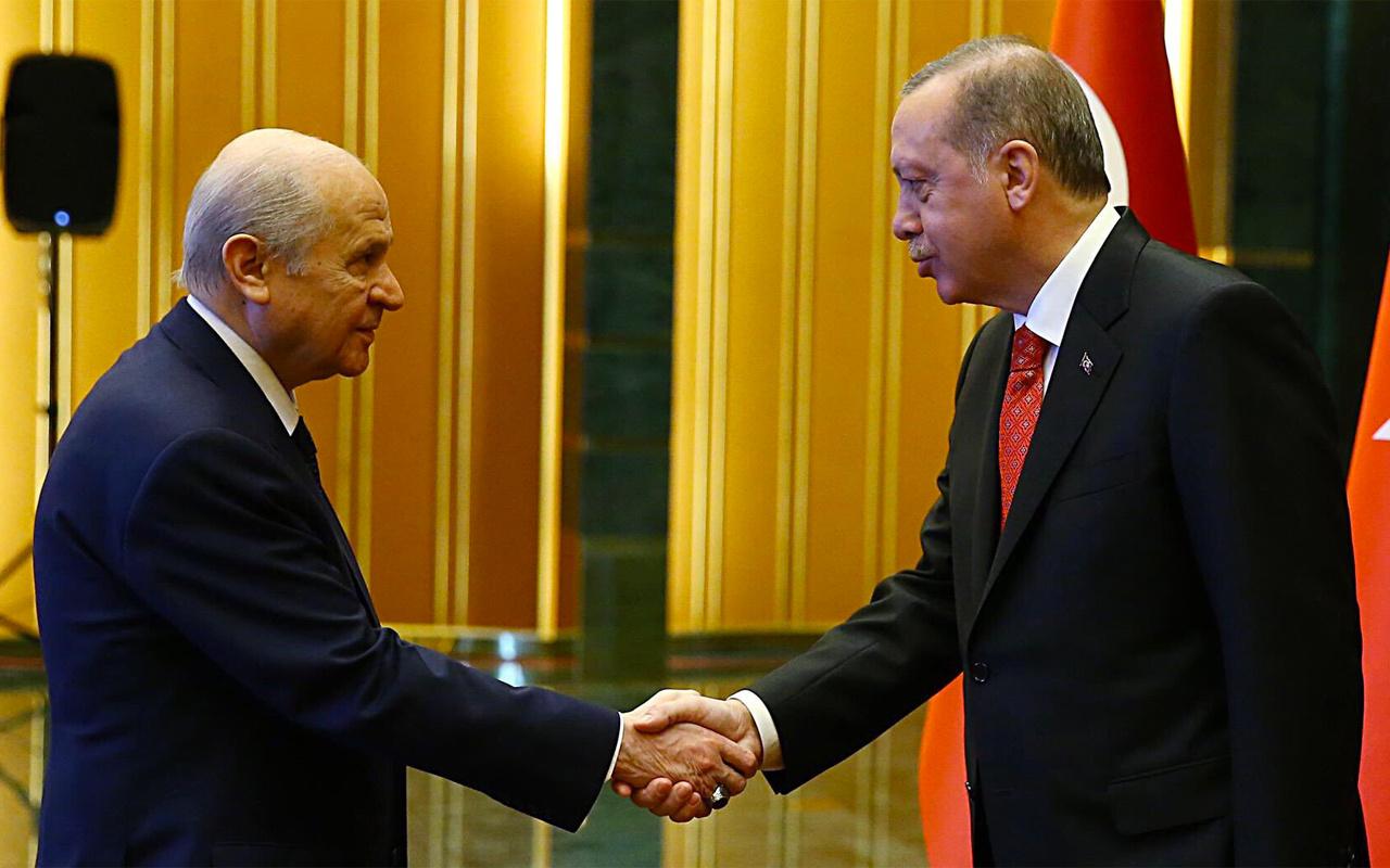 Devlet Bahçeli'nin ittifak yemini : Erdoğan düşerse Türkiye düşer