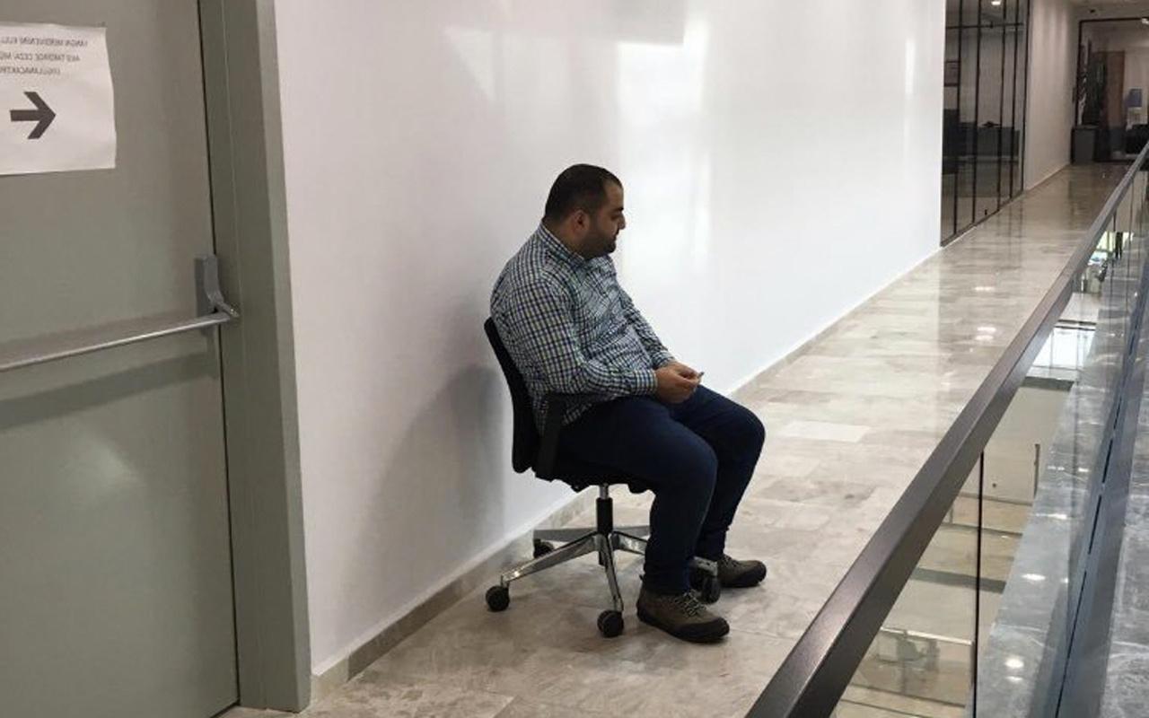 Veysel İpekçi selam vermeyen şoförünü tuvalet önüne oturttu