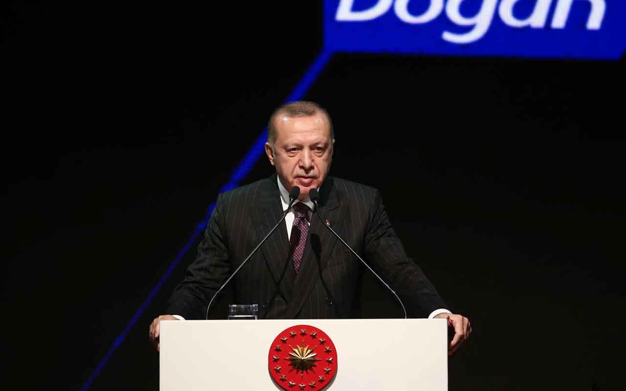 Erdoğan, Doğan Grubunun 60. Kuruluş Yıl Dönümü Gala Gecesi'ne katıldı
