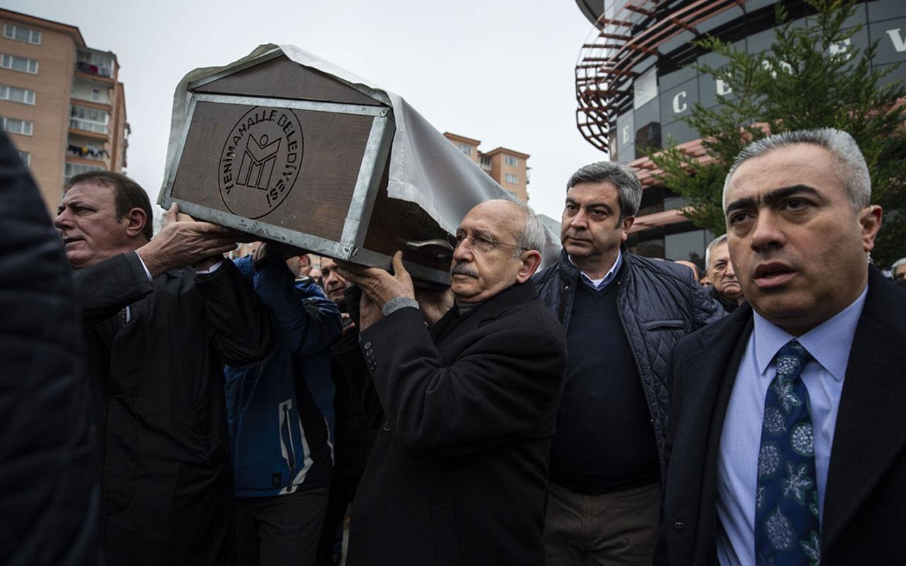 Kılıçdaroğlu'nun dayısı Hasan Ali Gündüz son yolculuğuna uğurlandı