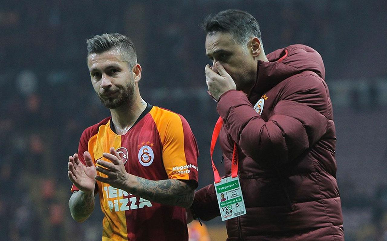 Galatasaray'ın bitmek bilmeyen sakatlık imtihanı Adem Büyük açıklandı