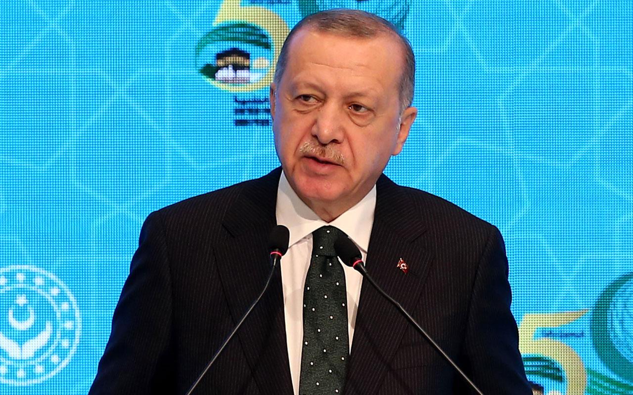Cumhurbaşkanı Erdoğan'dan Macron'a İslami terör tepkisi