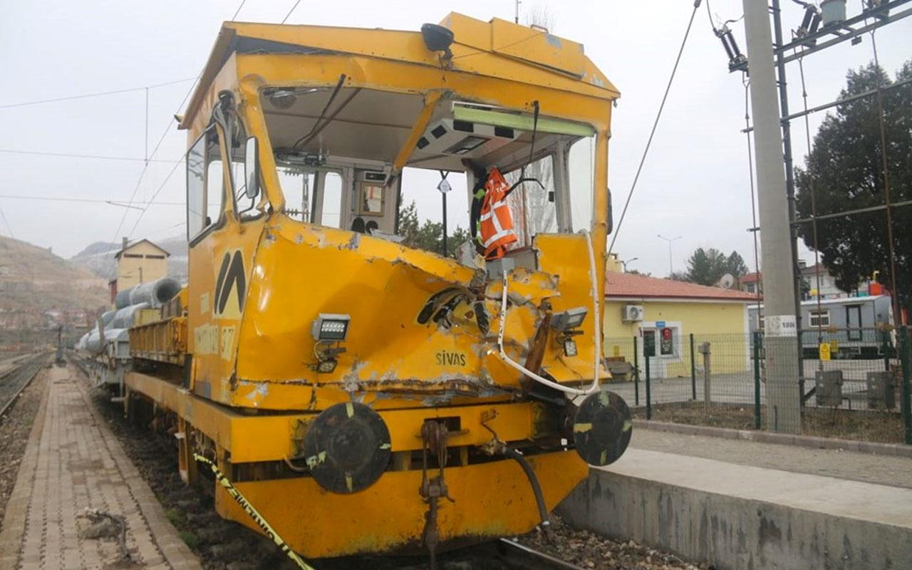 Sivas'ta demiryolunda kaza: 1 ölü, 7 yaralı