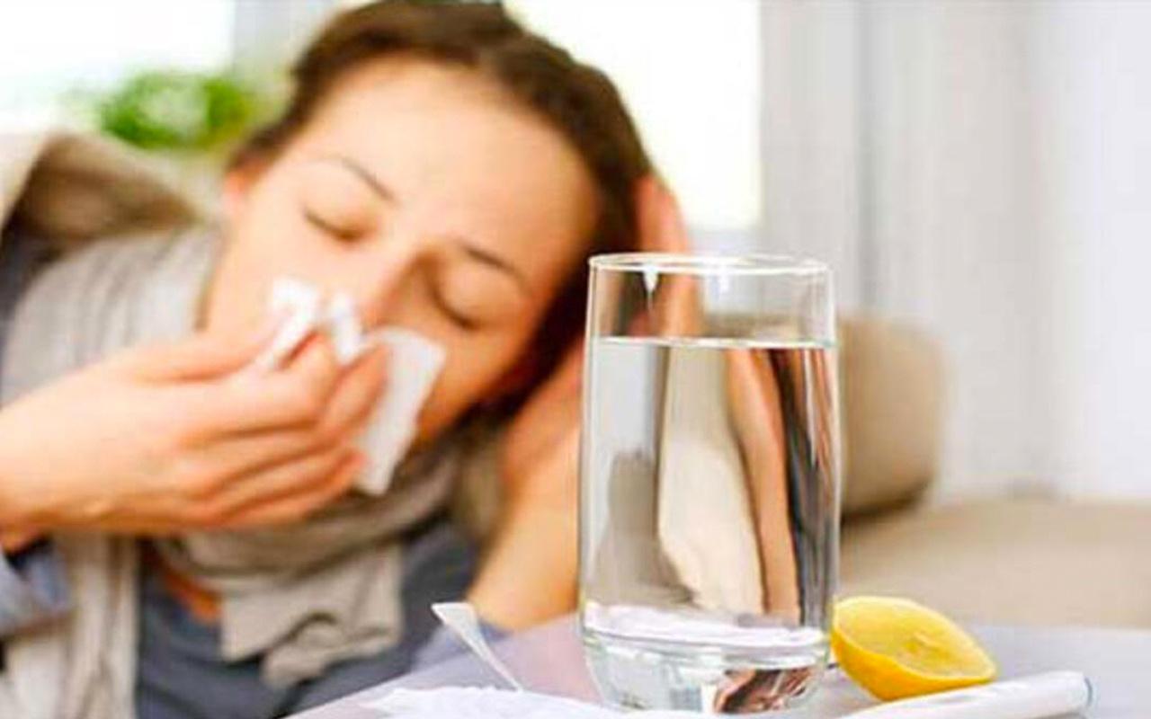Grip ve nezle olduğunuzda sakın bu yiyecekleri yemeyin!