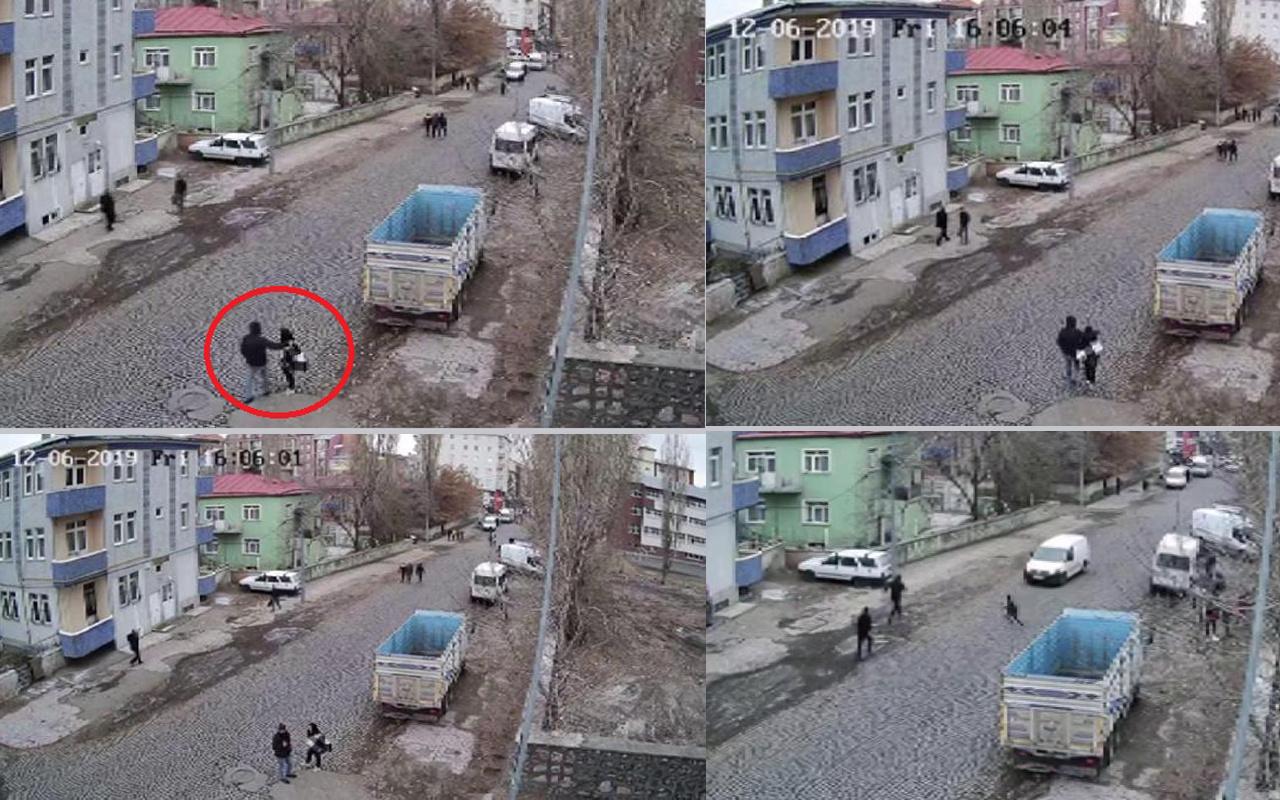 Kars'ta 17 yaşındaki liseli kızı minibüsle kaçırmaya kalktılar!