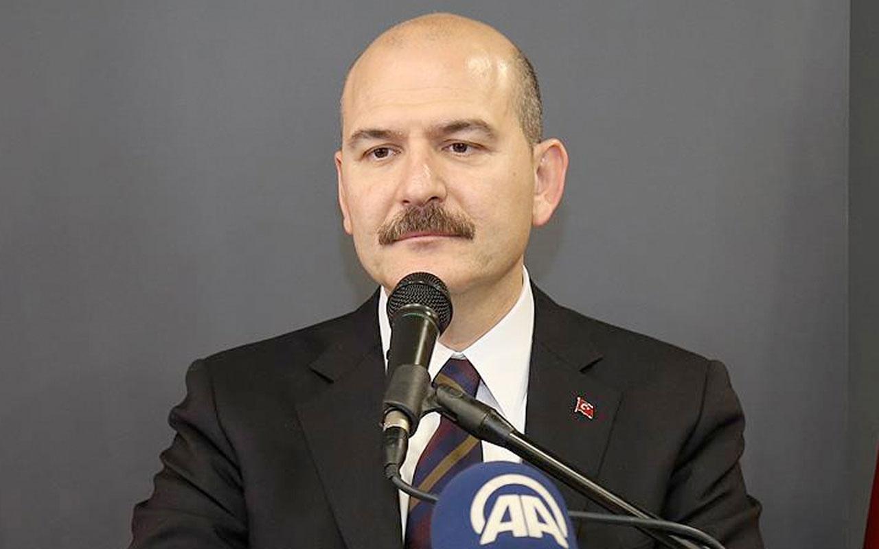 İçişleri Bakanı Süleyman Soylu Fransızca paylaştı: Kapının önüne koyuyoruz
