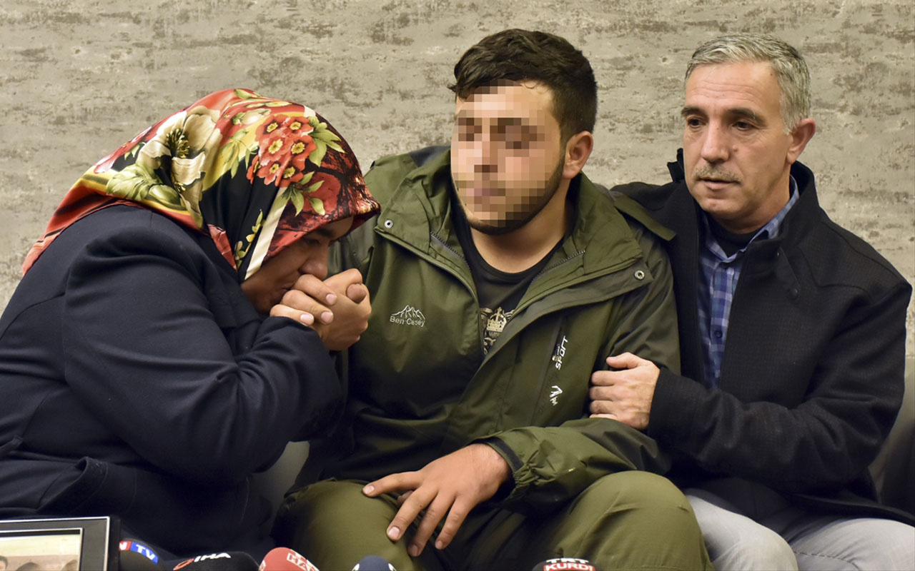Diyarbakır annelerinden Hatice anne oğluna kavuştu!
