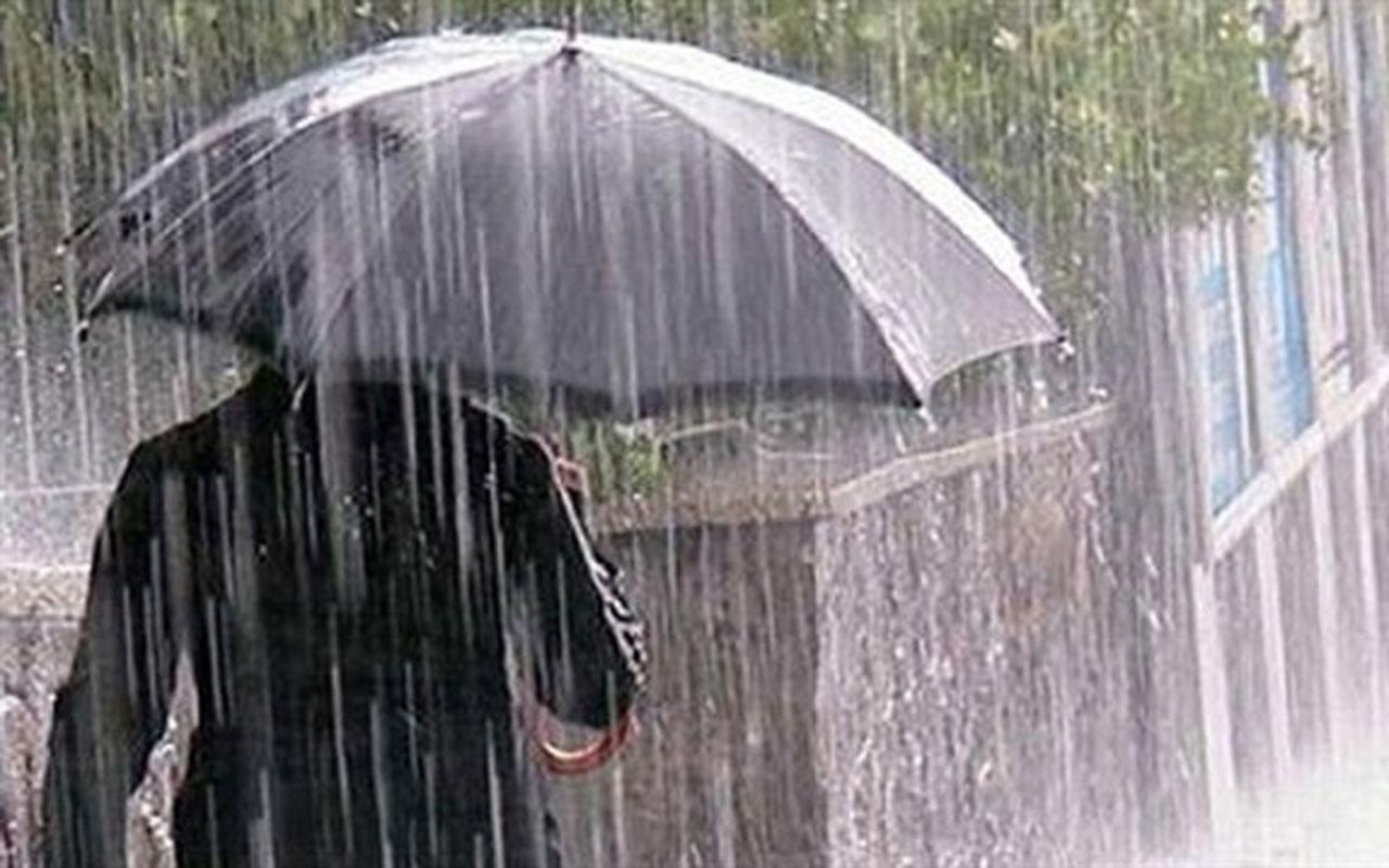 Hava durumu Bolu sağanak bastırdı saatlik son rapor geldi