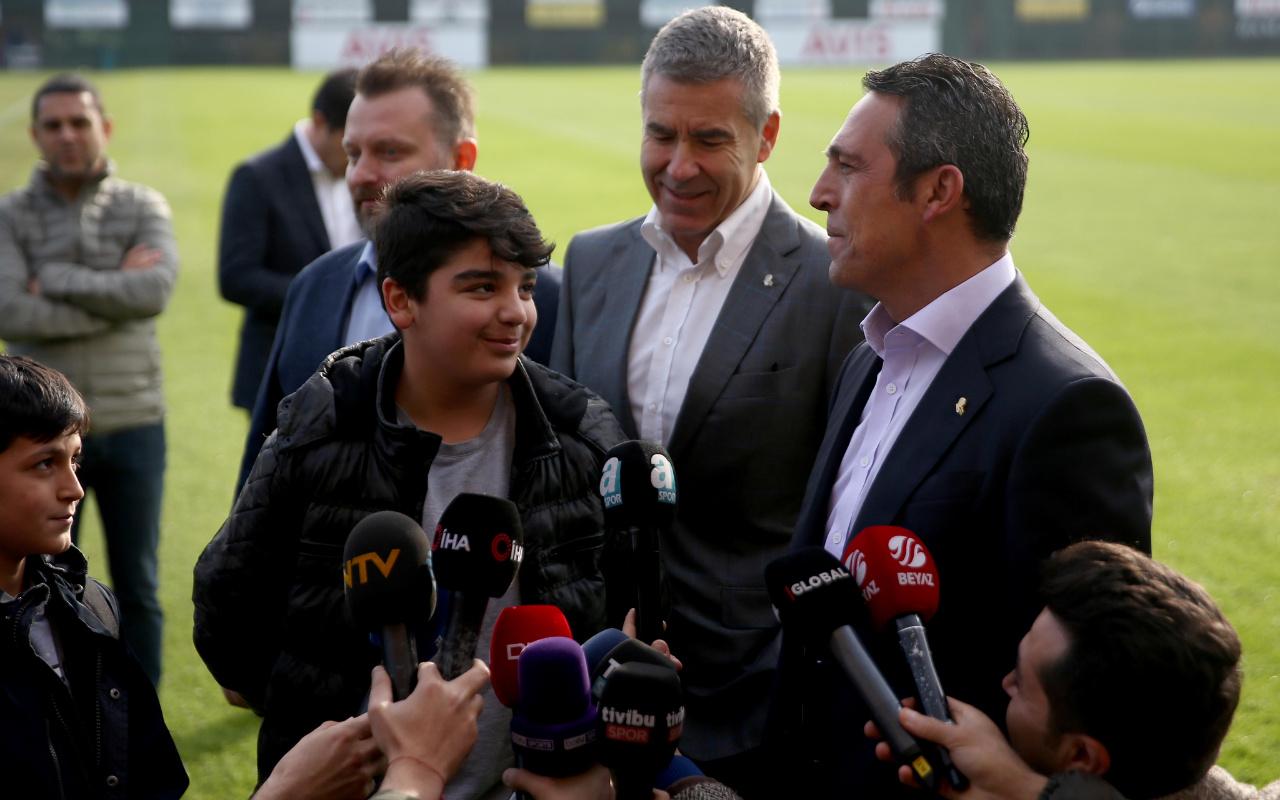 Ali Koç'u gülümseten diyalog: Doğru yolu seçmişsin