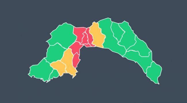 Antalya'da büyük bir yağış bekleniyor! 6 ilçede alarm bütün izinler iptal