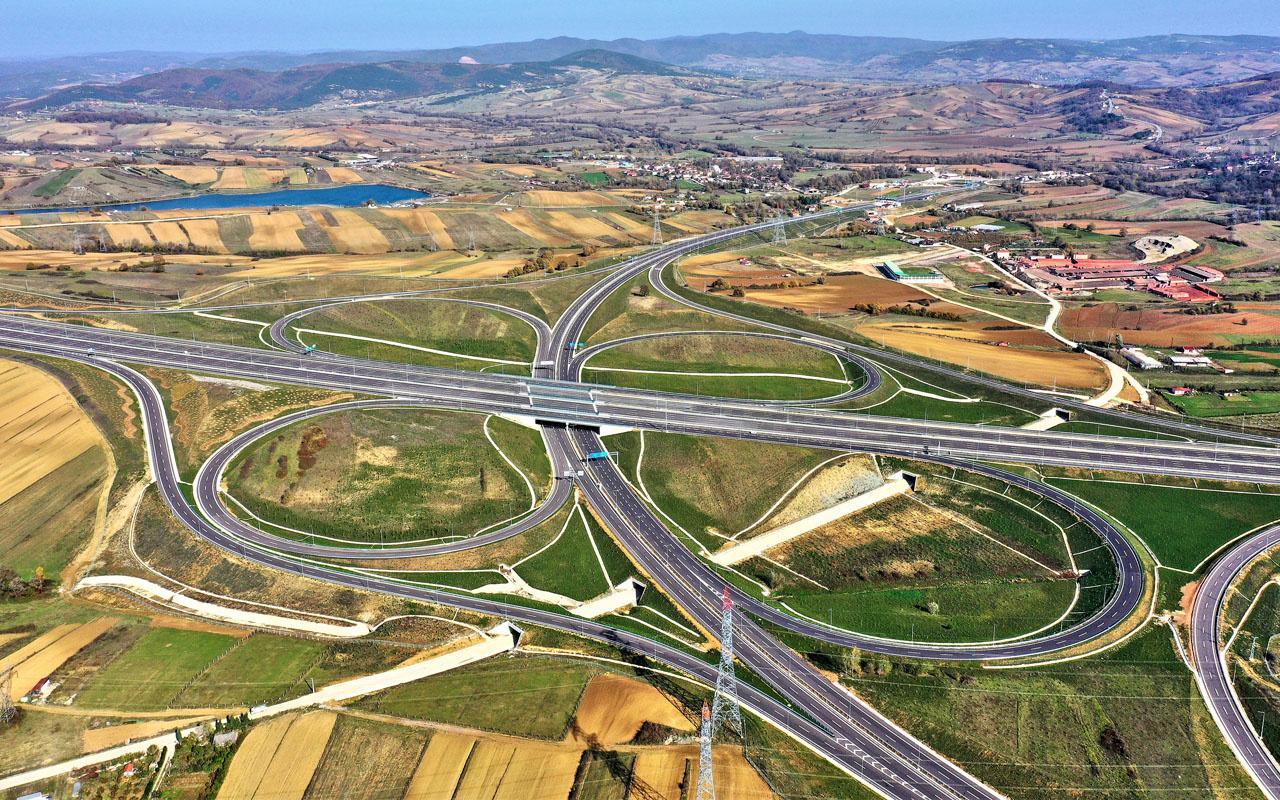 Asya ve Avrupa trafiğini rahatlatacak! Kuzey Marmara Otoyolunda sona gelindi