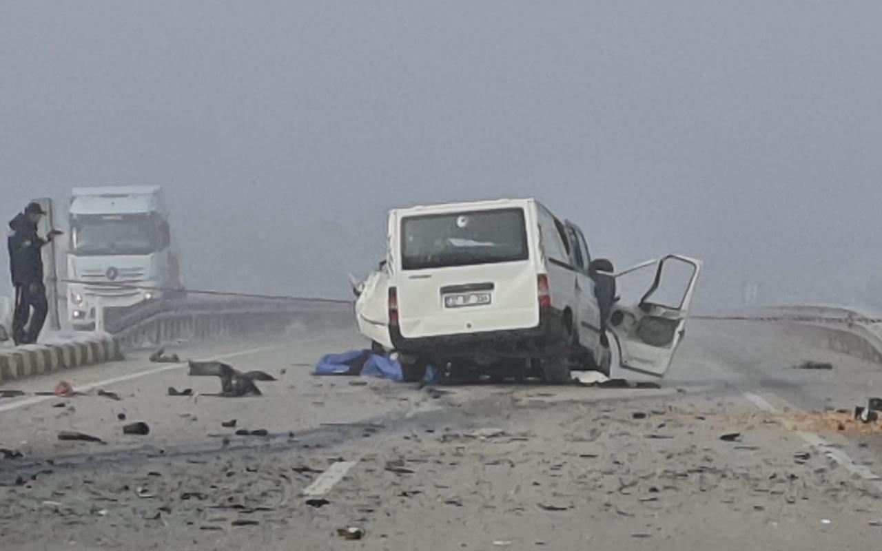Kastamonu Devrakani'de dehşet veren kaza: 5 ölü çok sayıda yaralı