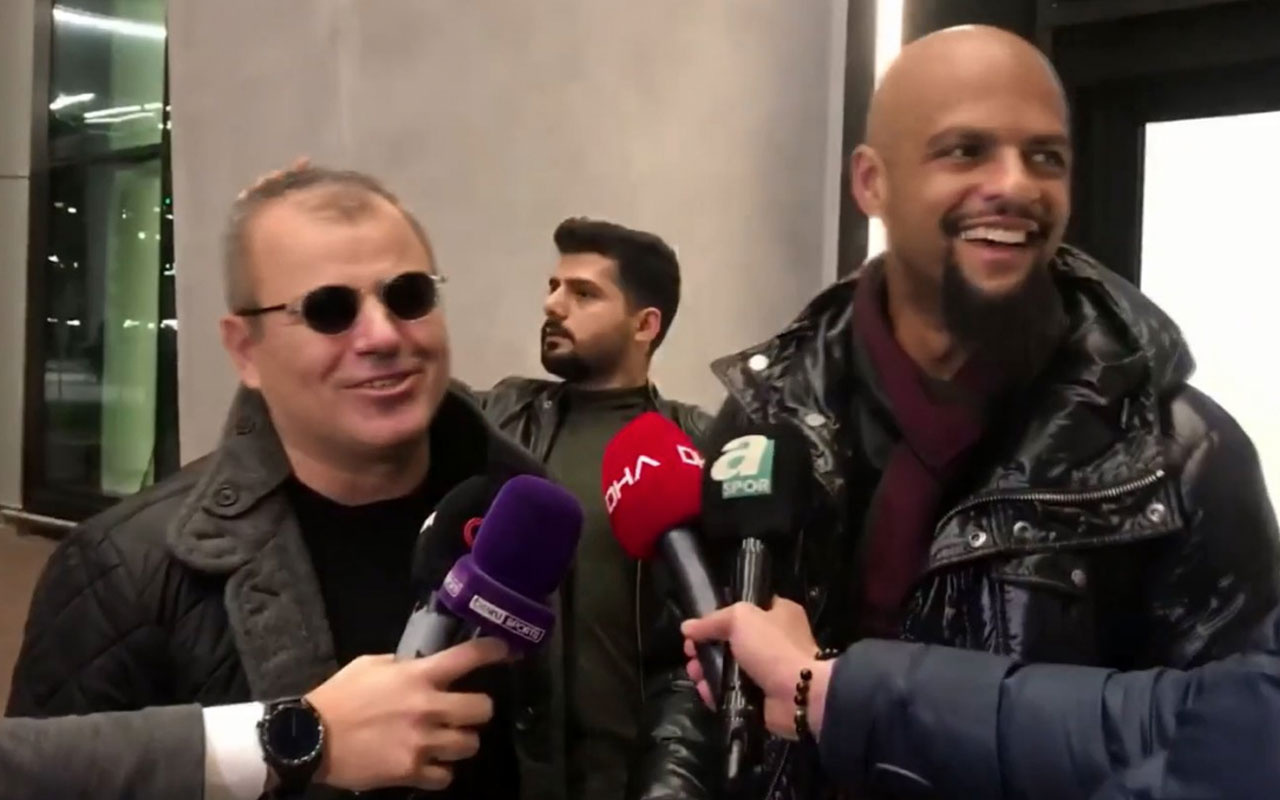 Felipe Melo İstanbul'a geldi Fenerbahçe'ye laf soktu