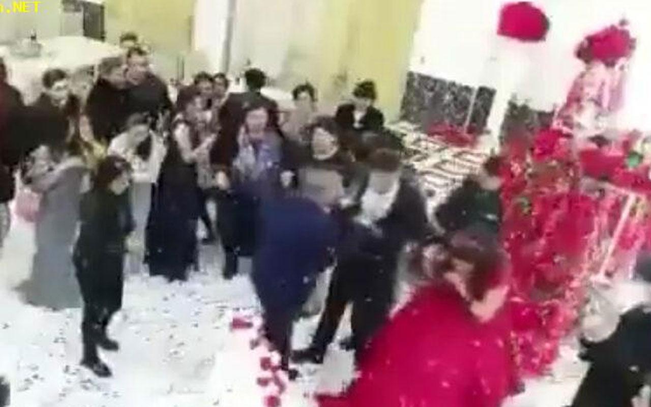 Damat düğünün ortasında sinir krizi geçirdi! Kimse ne olduğunu anlayamadı