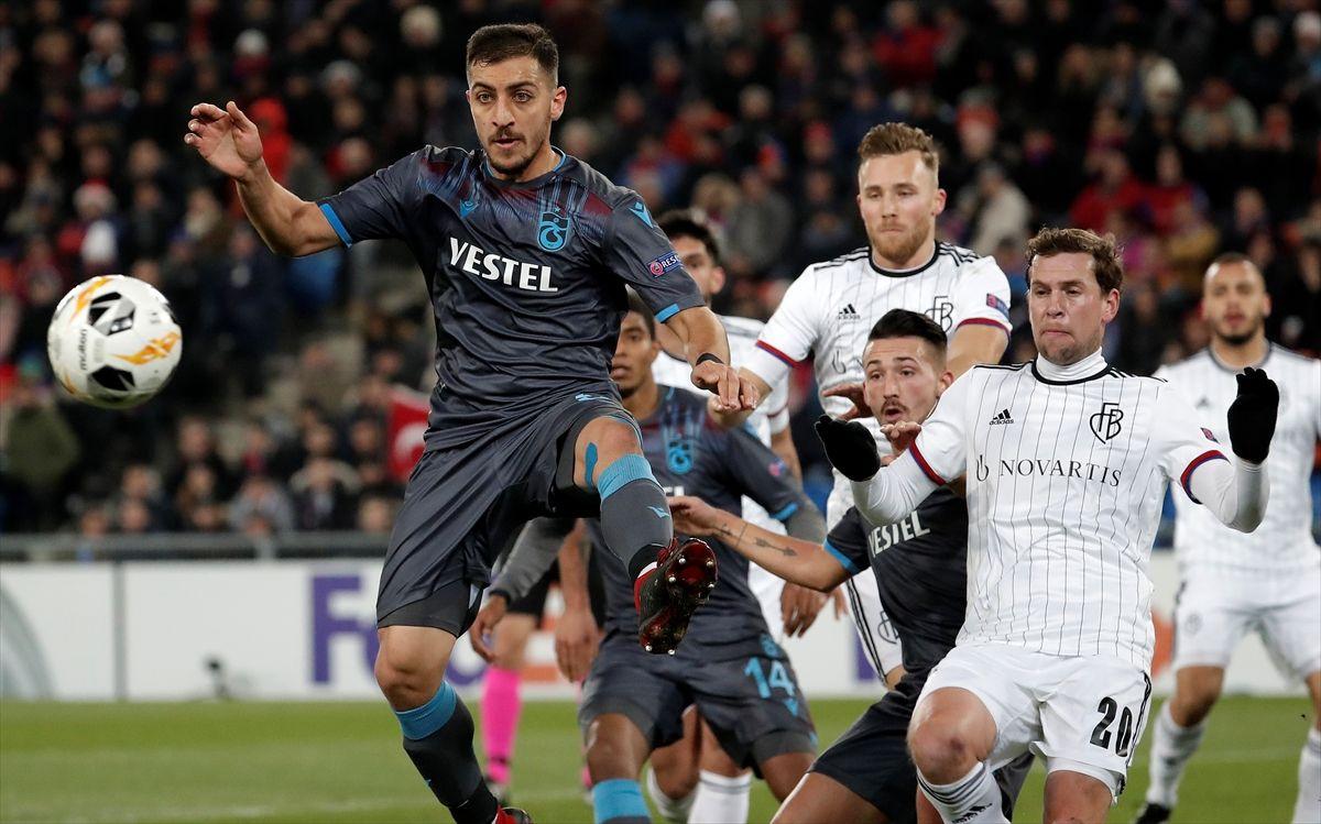 Basel Trabzonspor UEFA Avrupa Ligi maçı golleri ve geniş özeti