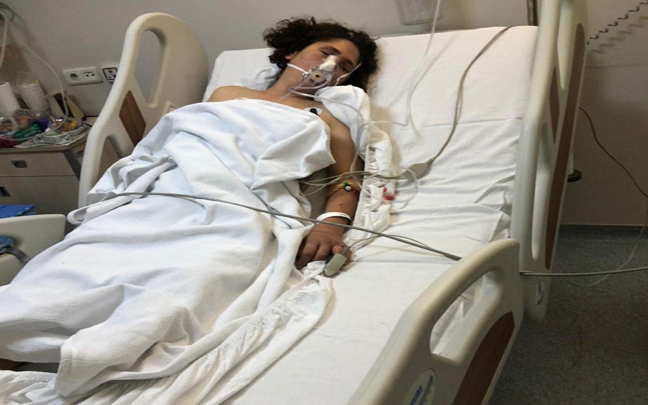 İzmir'de cani koca eşini dövdü ağır yaralanan kadın günlerce ahırda kaldı