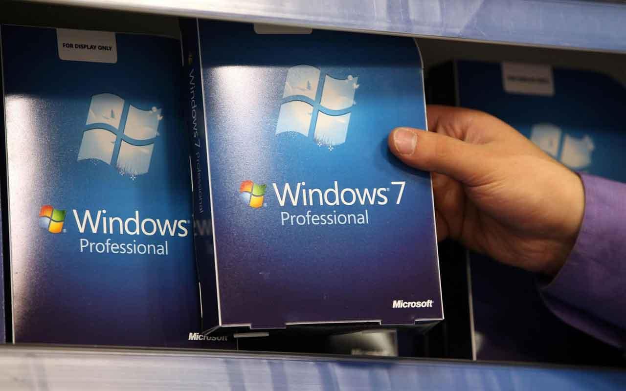 Windows 7 için geri sayım başladı