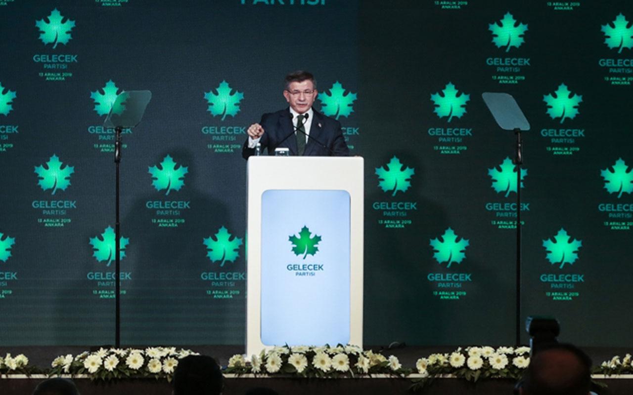 Ahmet Davutoğlu yeni partisini açıkladı! Gelecek Partisi'nde bakın kimler var?