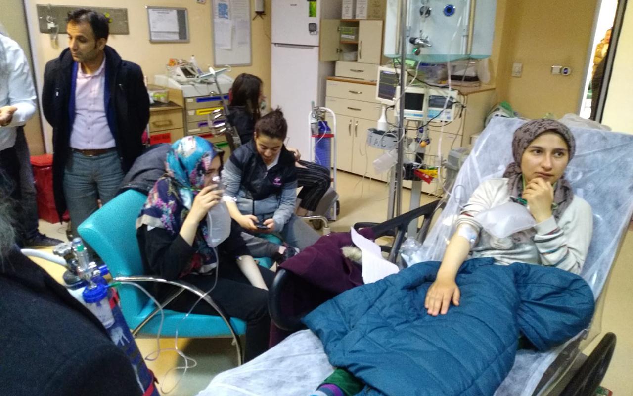Çorum'da zehirlenme şüphesiyle hastanelik olan öğrencilerin tamamı taburcu edildi