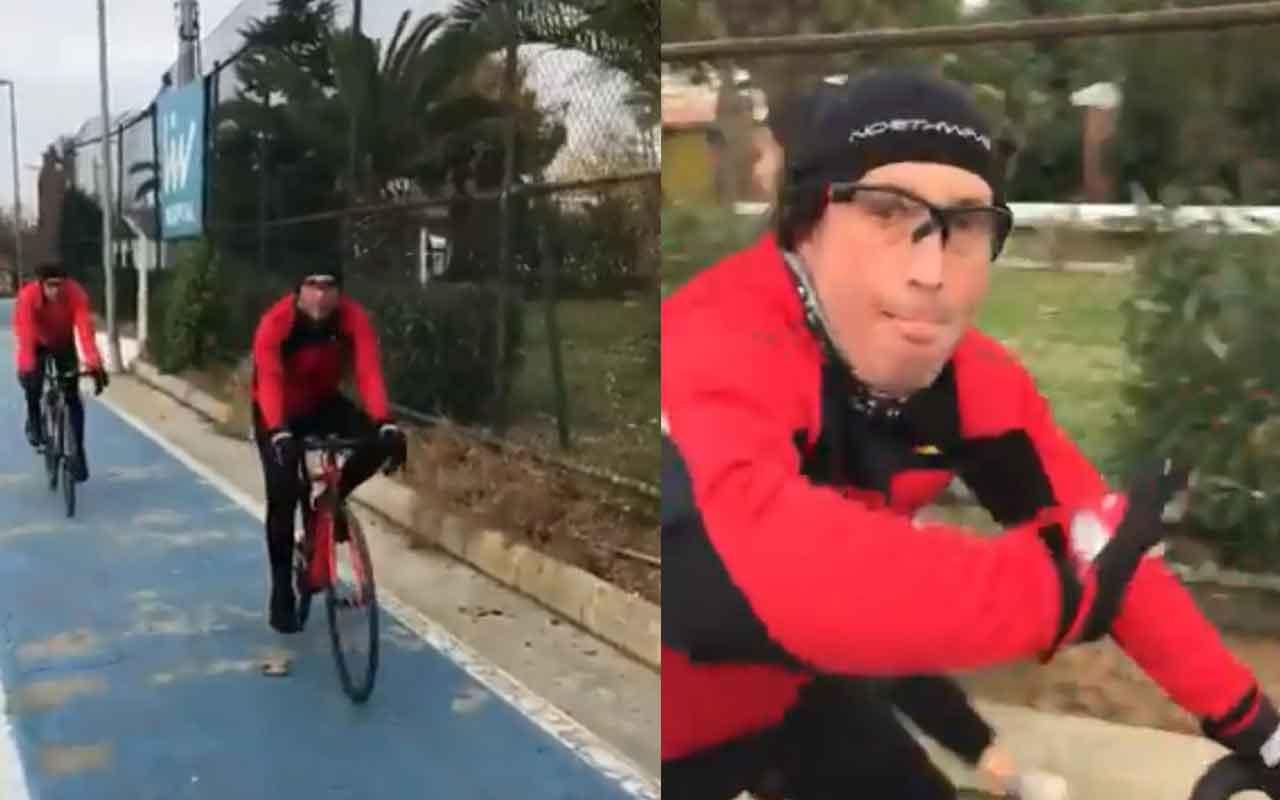 Kadıköy'de bisikletliler genç kıza böyle saldırdı!
