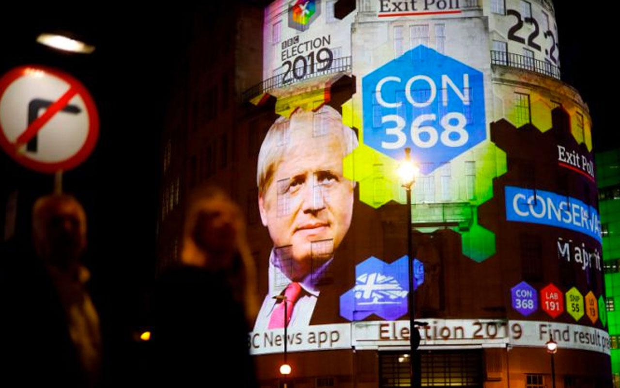 İngiltere'de erken genel seçimi Boris Johnson liderliğindeki Muhafazakar Parti kazandı