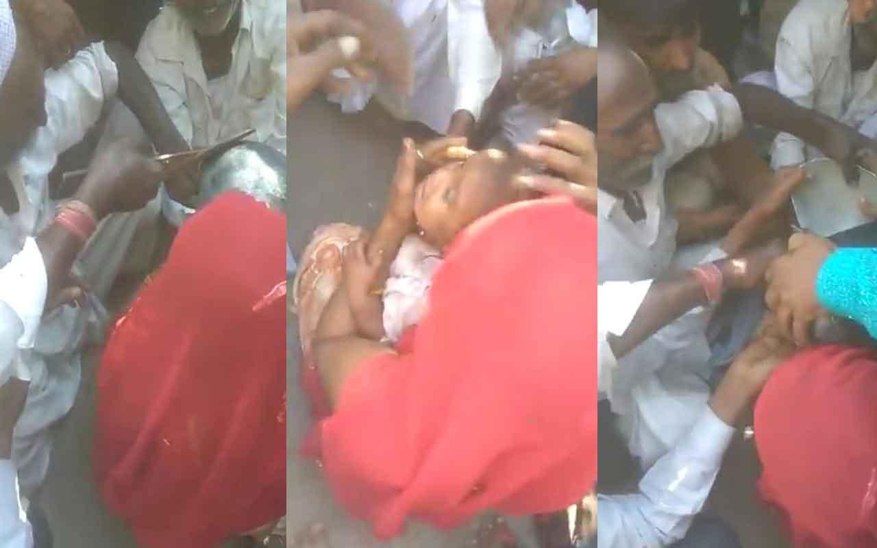 Kafası tencereye sıkışan küçük kızı kurtarma operasyonu