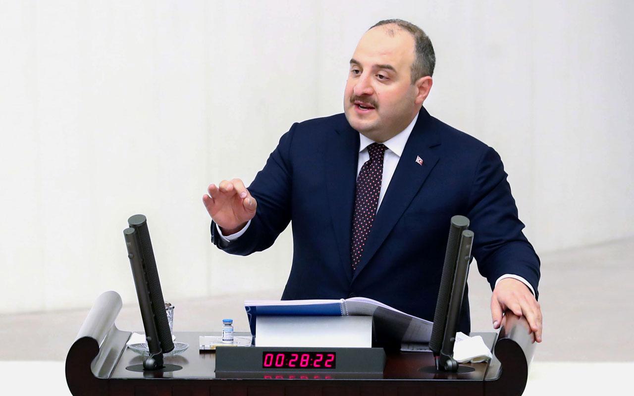 Sanayi ve Teknoloji Bakanı Mustafa Varank TBMM kürsüsünde 'tek adamı' açıkladı