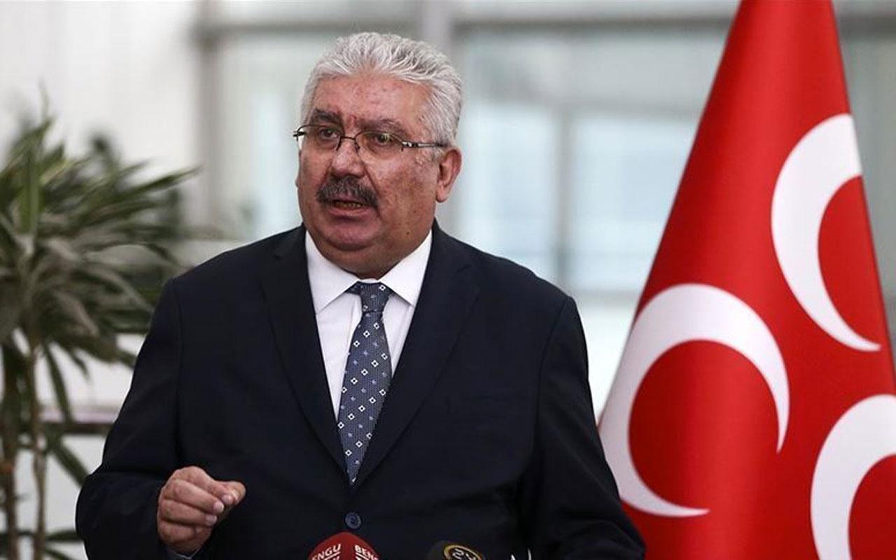 MHP Genel Başkan Yardımcısı Semih Yalçın'dan Ahmet Davutoğlu'nun kurduğu yeni partiye tepki