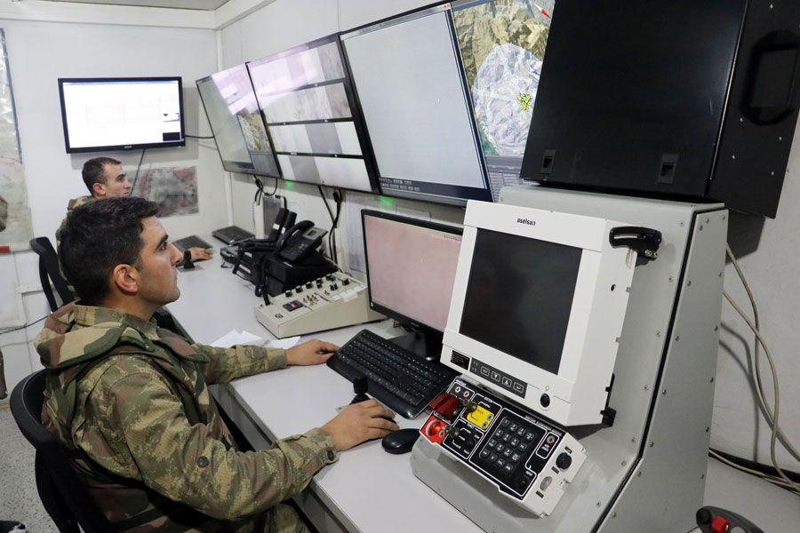 TSK Irak'ın kuzeyinde 7 üs bölgesi kurdu çarpıcı görüntüler var