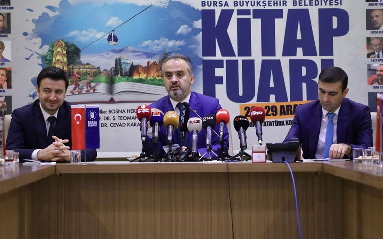 Bursa'da bir ilk! Kitap Fuarı 20 Aralık'ta açılacak