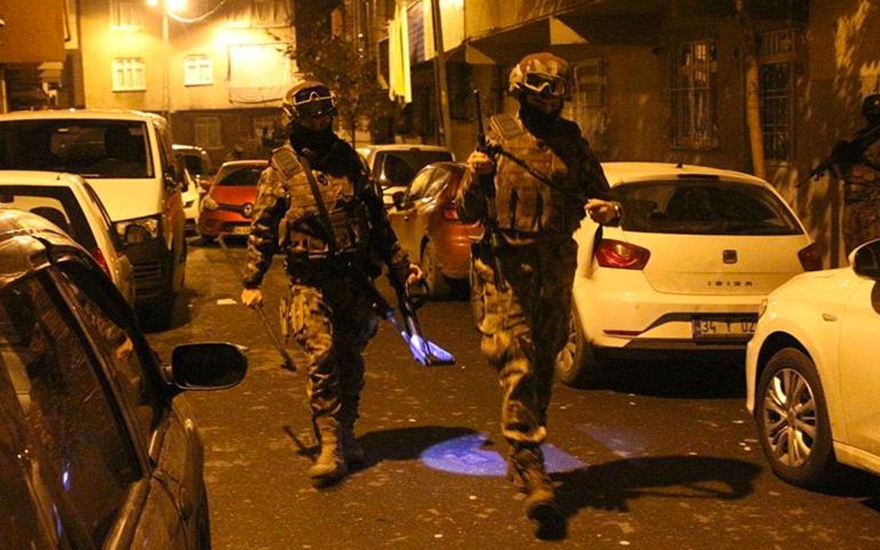 İstanbul'da zehir tacirlerine büyük baskın! 100'den fazla gözaltı var