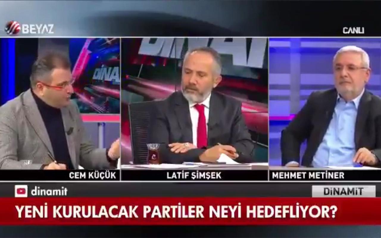 Cem Küçük: Erdoğan karşıtı biri seçilirse yargılanırız