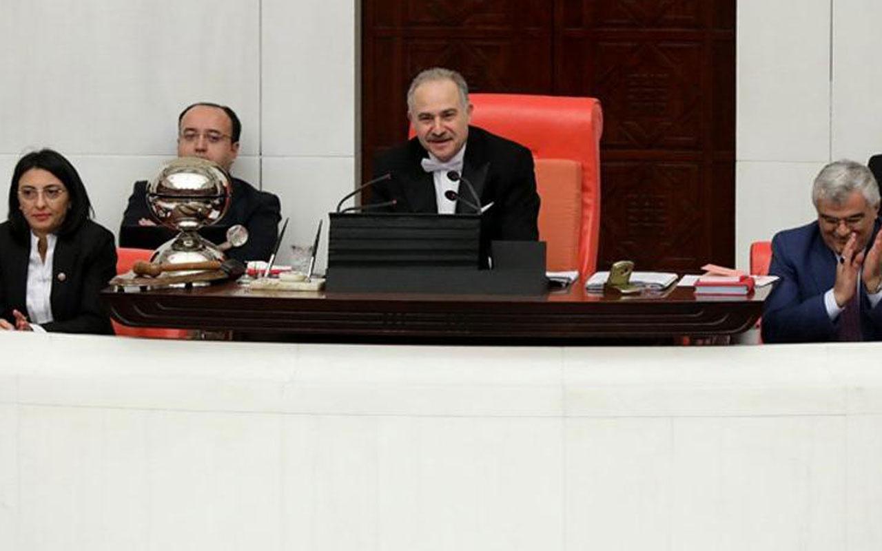 TBMM Başkanvekili Levent Gök Meclis'te rekor kırdı Ak Parti'den tebrik geldi