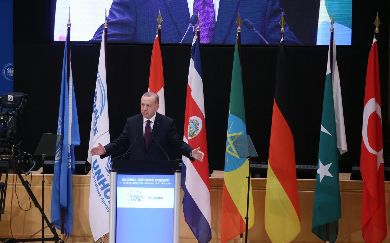 Cumhurbaşkanı Erdoğan'dan Suriye'de petrolü beraber çıkaralım çağrısı