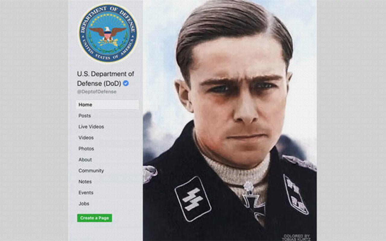 ABD ordusundan skandal Nazi paylaşımı