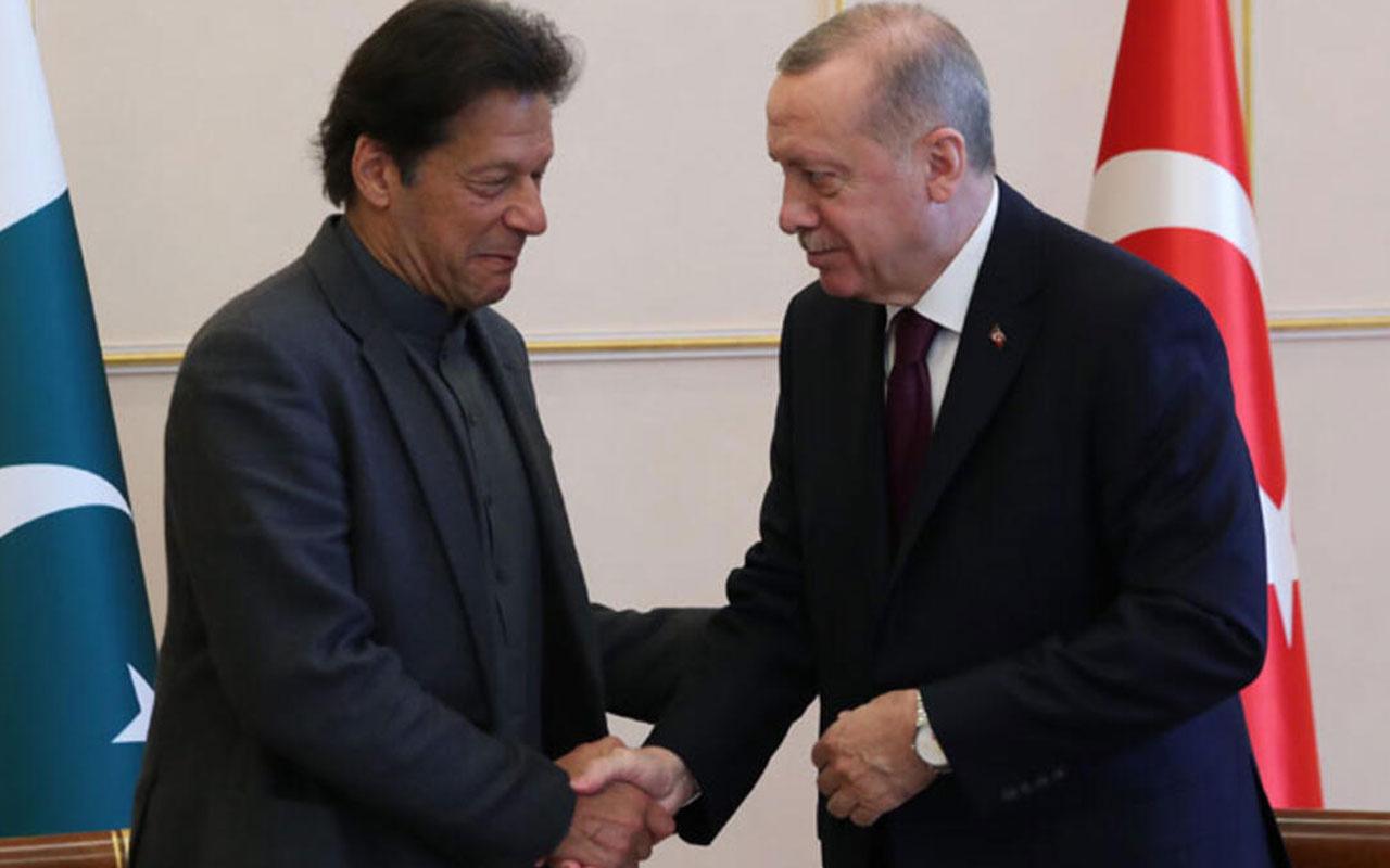 İmran Han'dan Başkan Erdoğan'a teşekkür