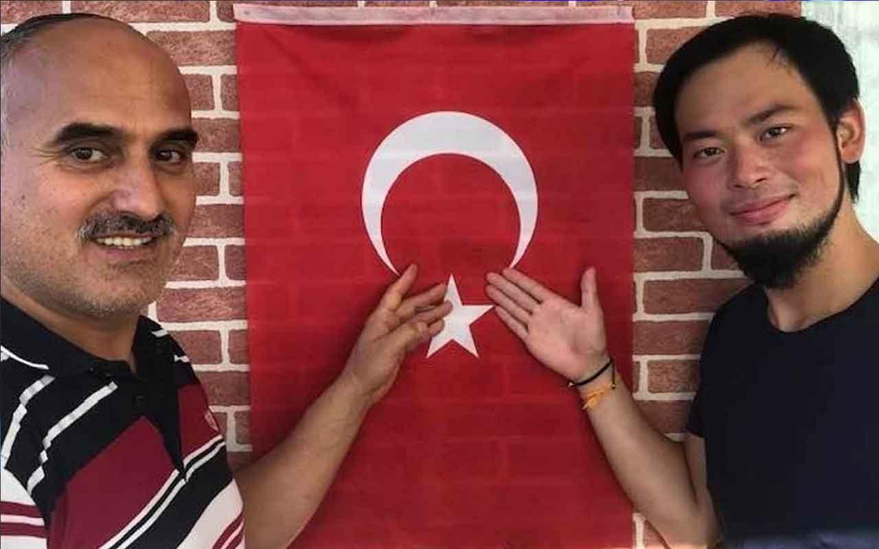 Japon gezgin orihiro Murata Türkiye'de Kelime-i Şehadet getirdi