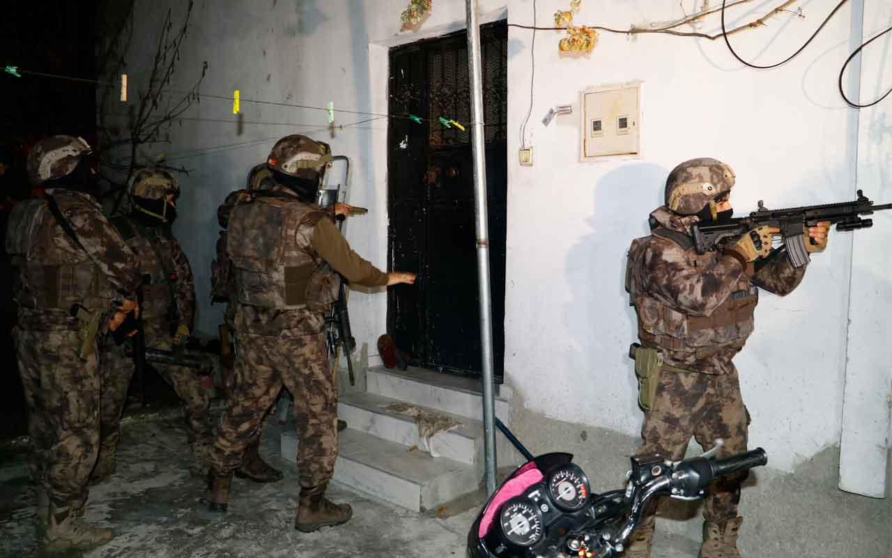 Şafak vakti torbacılara baskın: 30 gözaltı kararı
