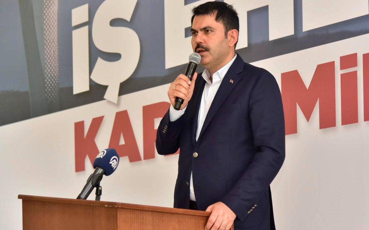 Bakan Murat Kurum: sosyal konut kampanyasında bir ilki açıkladı