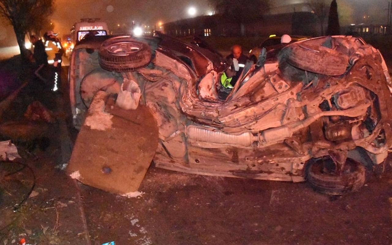 Eskişehir'de feci kaza! 'Deprem zannettim'